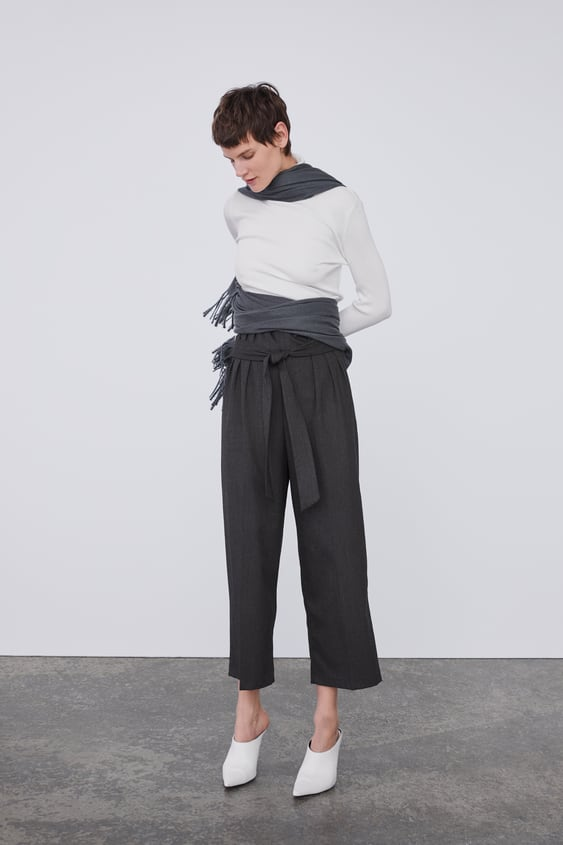 Culottes With Bow  View All Trousers Woman by Zara
