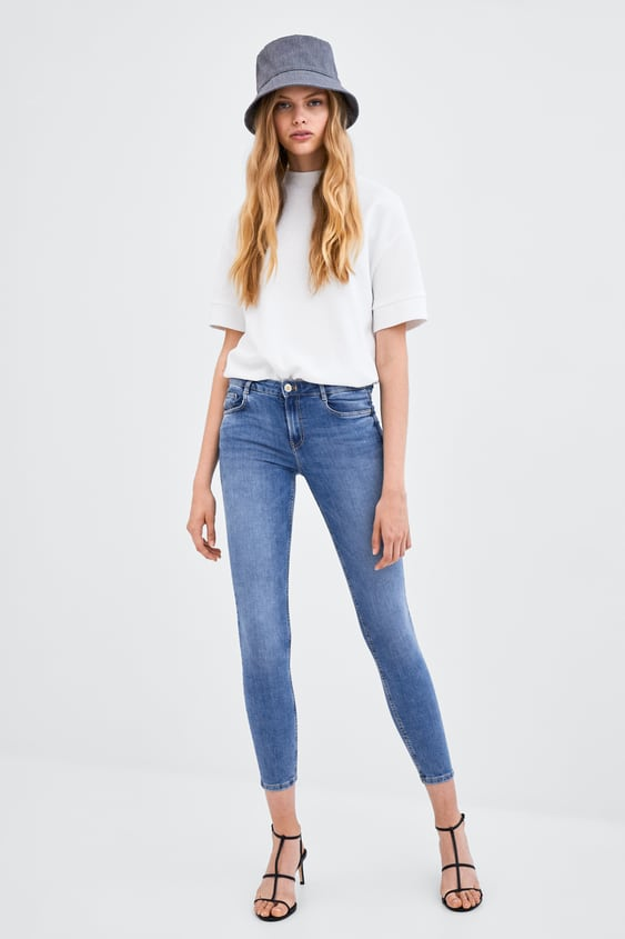 Low Rise Sculpt Jeggings View All Jeans Woman Sale by Zara