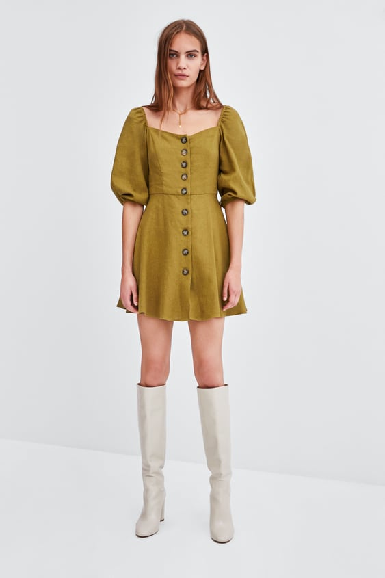 jurk-met-knopen by zara