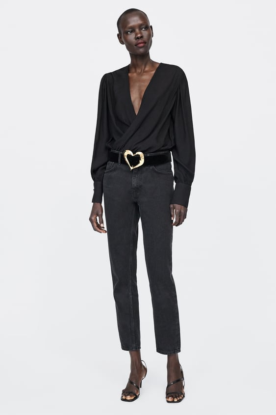 Crossover Bodysuit  View All Dress Time Woman Corner Shops by Zara