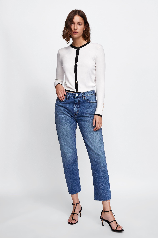 Buttoned Cardigan  Basics Knitwear Woman by Zara
