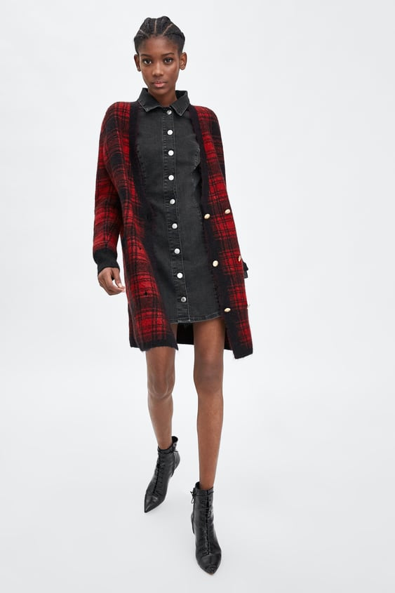 Authentic Denim Dress  Mini Dresses Woman by Zara