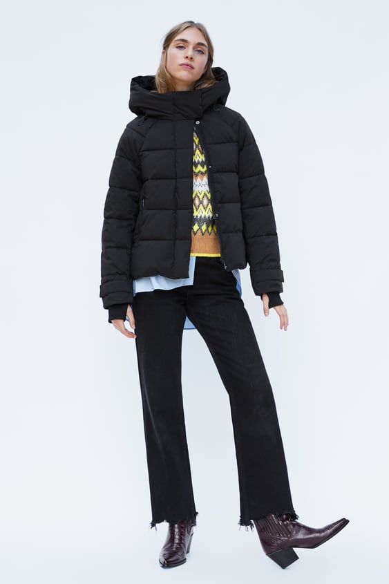Convertible Quilted Jacket  Bagtrending Now Woman by Zara