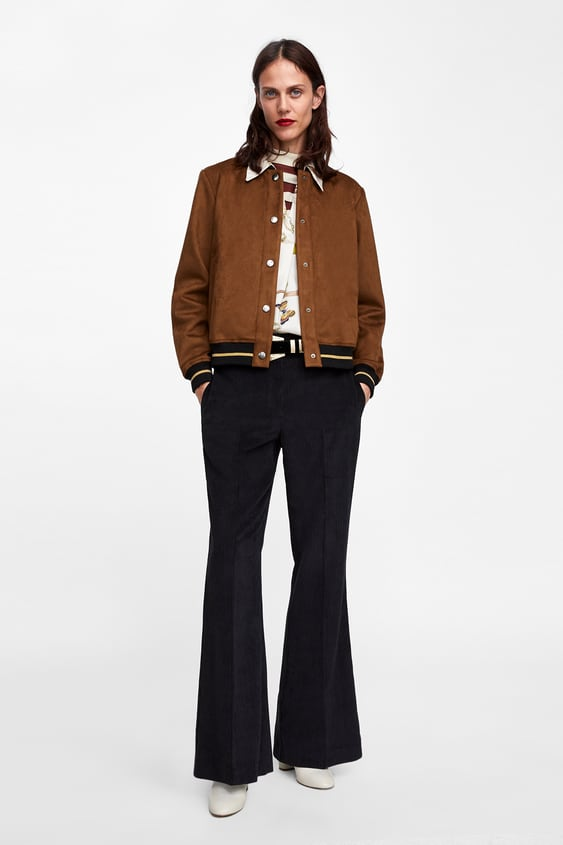 19411367d8 faux-suede-bomber-jacket--collection by zara