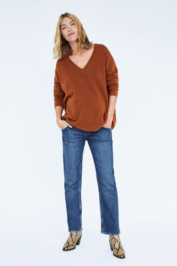7ae06756c Image 1 of ZW PREMIUM NEW STRAIGHT MATERNITY JEANS from Zara