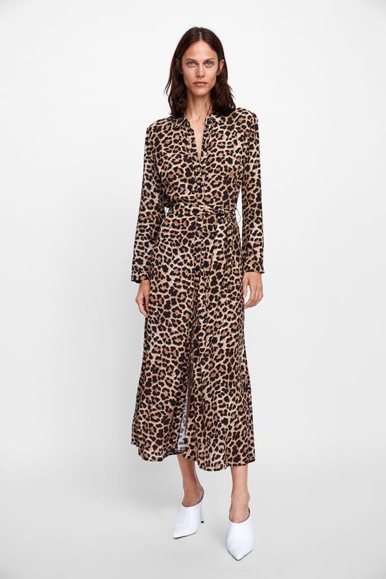 8c85de987bb9f4 lange-jurk-met-dierenprint by zara