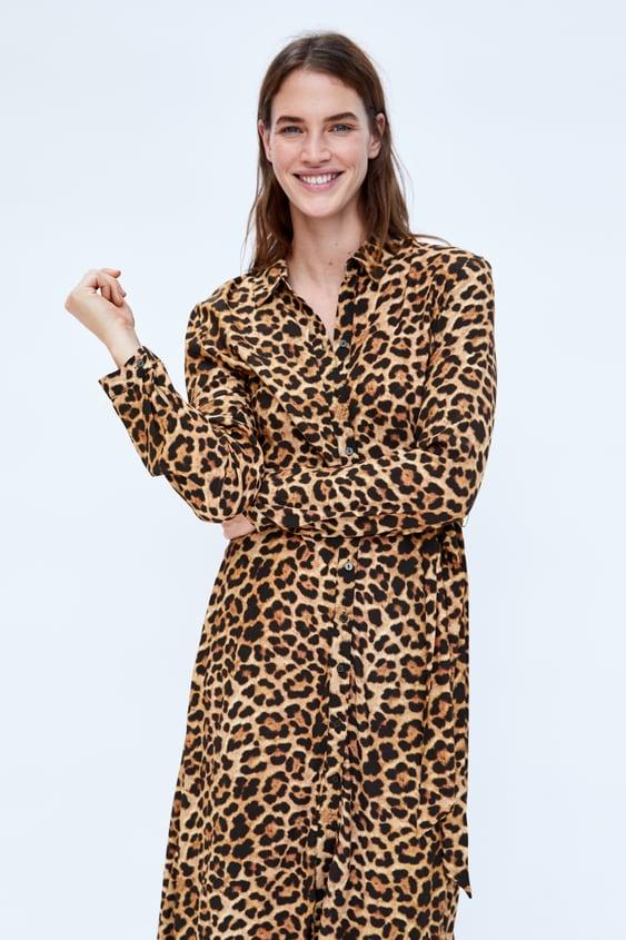 4d701c4366e3 LONG LEOPARD PRINT DRESS - MUM-WOMAN | ZARA Australia
