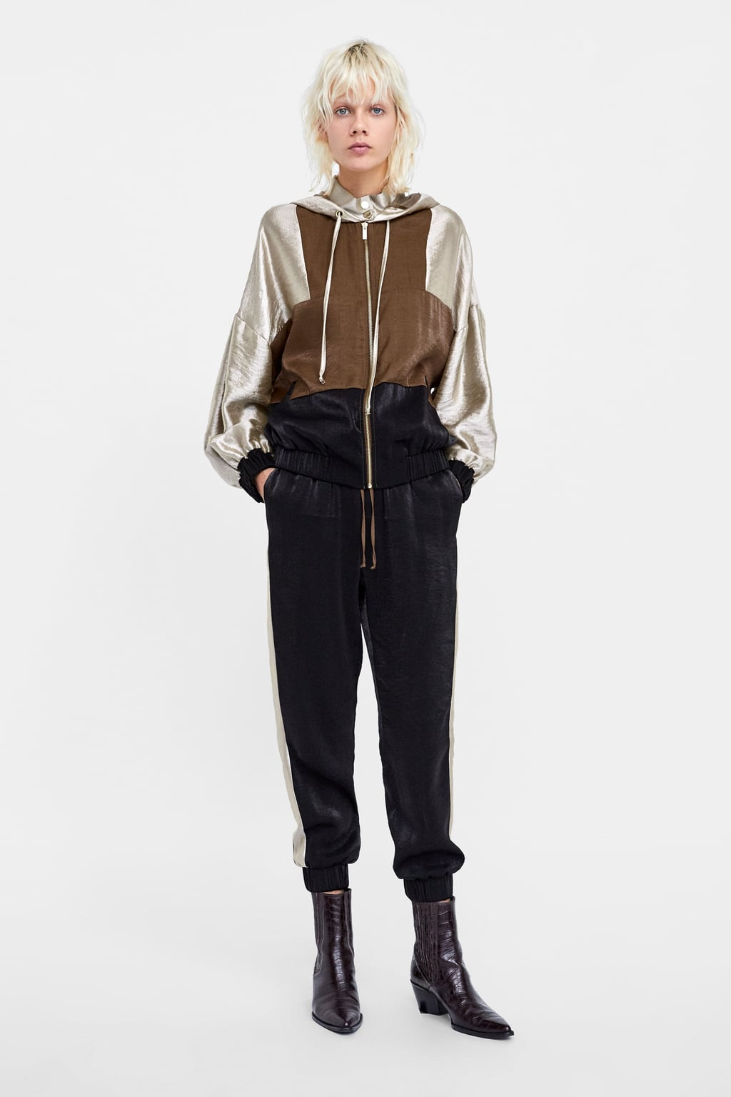 Blouson Color Block  Blousons by Zara