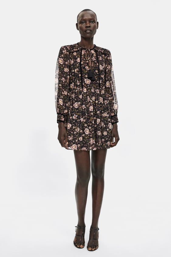 c113a13608 FLORAL PRINT DRESS - View all-DRESSES-WOMAN-SALE | ZARA New Zealand