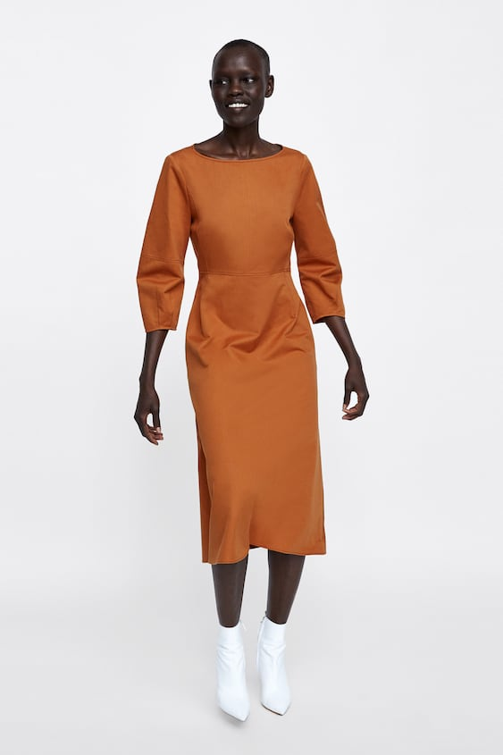 191c51bf Shoptagr | Puff Sleeve Dress Collectionsale Woman by Zara