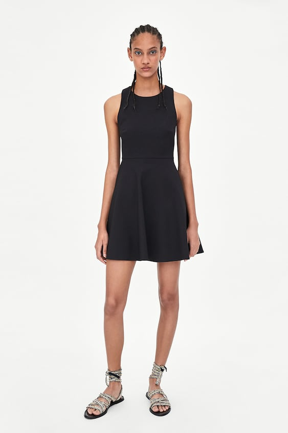 Dress With Tie View All Dresses Woman Sale by Zara