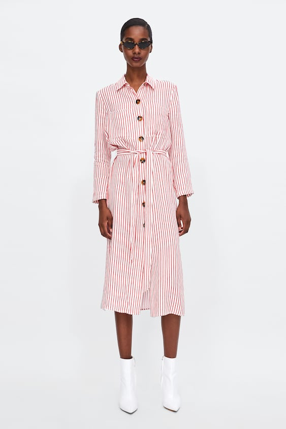 Striped Tunic  Starting From 70 Percents Offwoman Sale by Zara