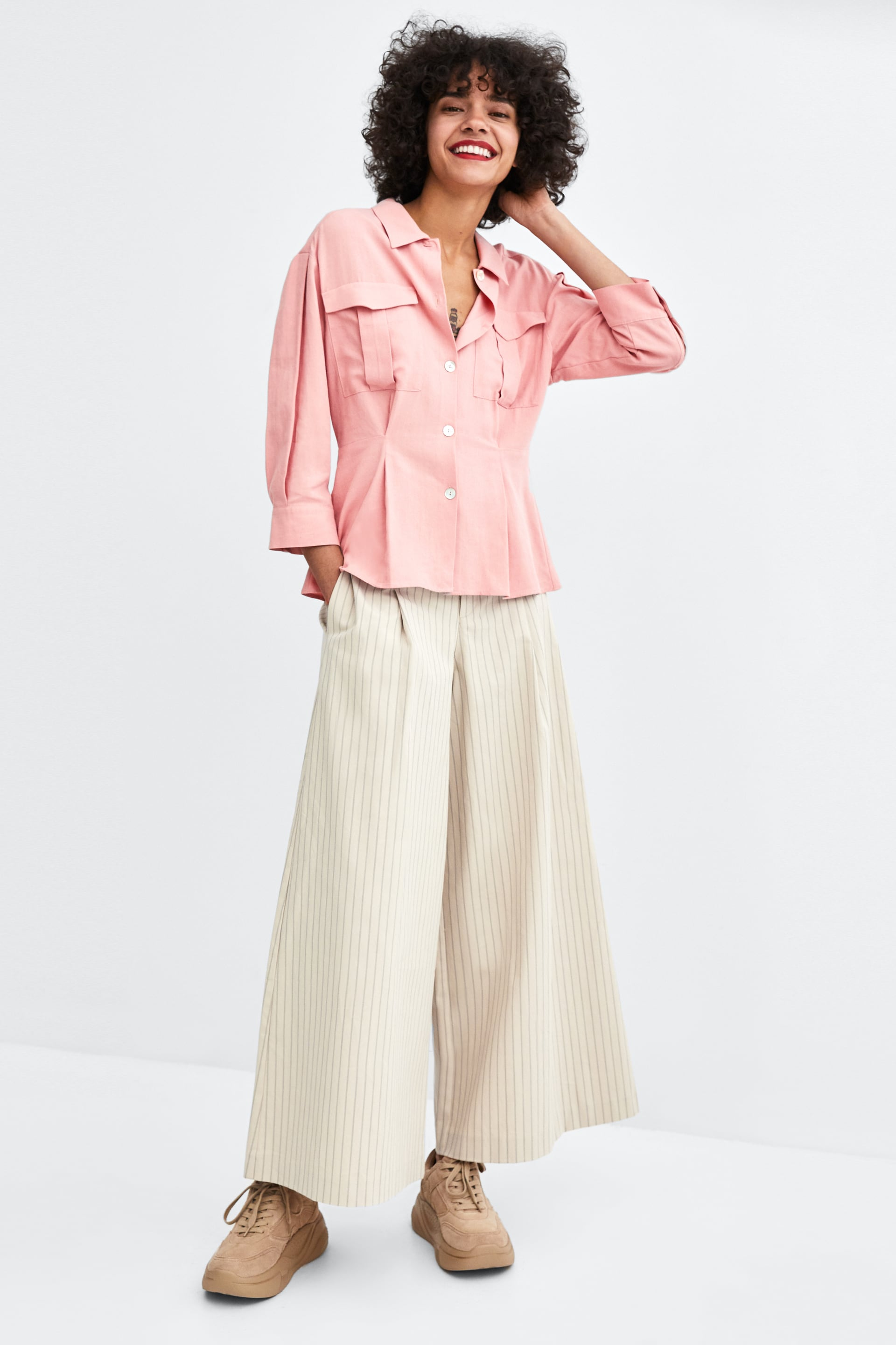 Pleated Shirt  Join Lifewoman Corner Shops by Zara