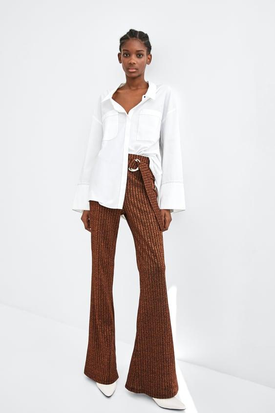 Contrasting Topstitching Shirt View All Shirts by Zara