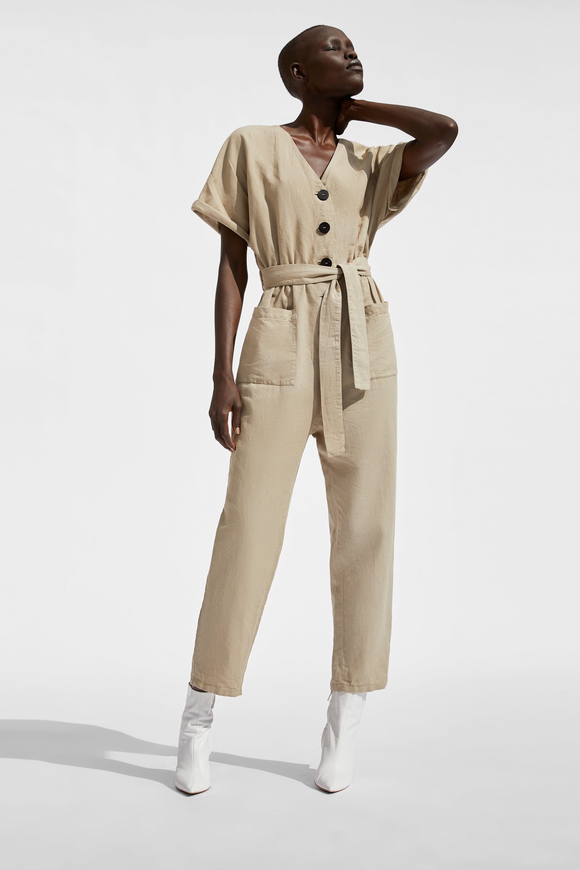 Buttoned Jumpsuit  Join Lifewoman Corner Shops by Zara