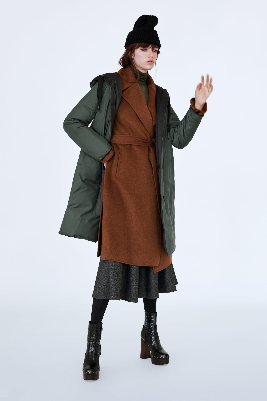 Reversible Down Coat  Winter Moodwoman by Zara
