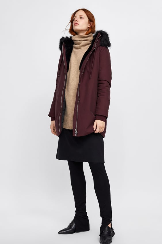 Water  Repellent Quilted Parka Parkas Coats Woman by Zara