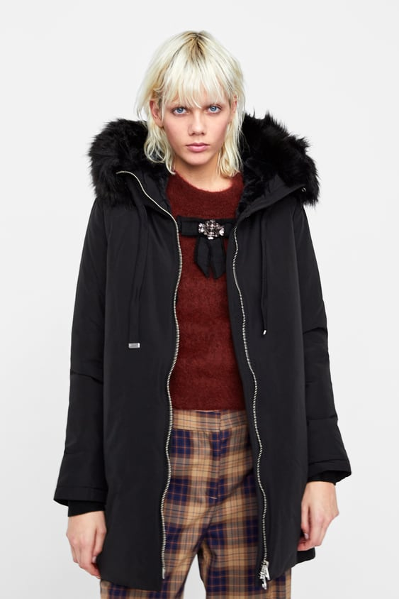 47948ac7 WATER REPELLENT PUFFER PARKA - COATS-WOMAN-SALE | ZARA United States