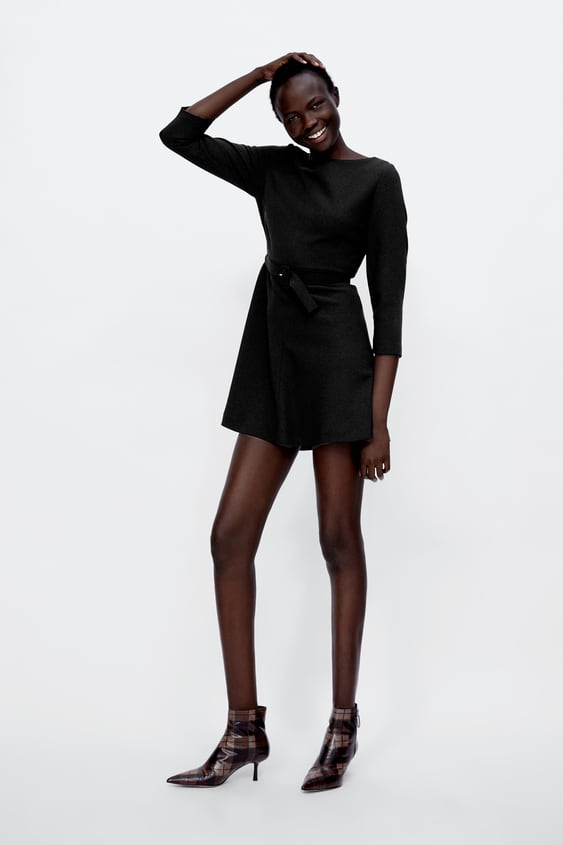 Belted Mini Dress Dresses Jumpsuits Sale Woman Zara United States