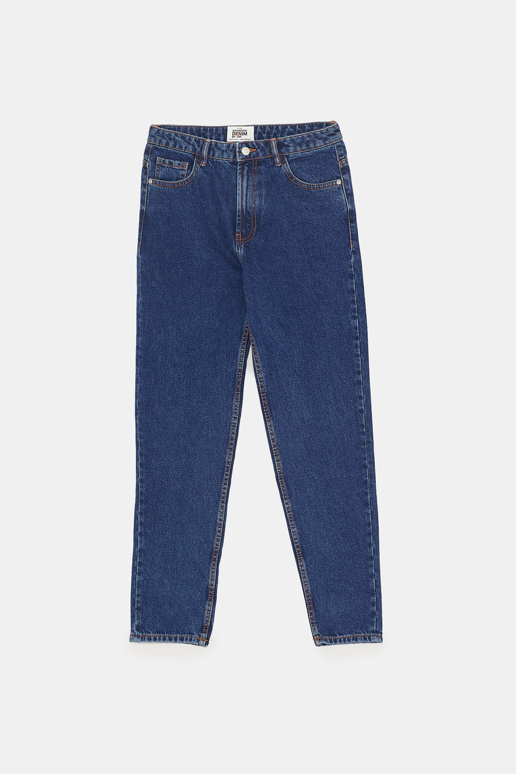 Image 11 de JEAN MOM FIT AUTHENTIC DENIM de Zara