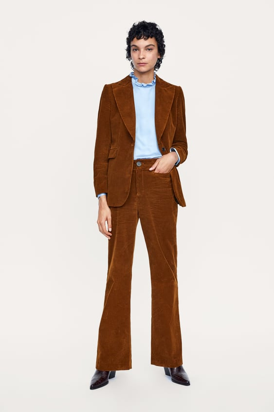 5bce643a872 CORDUROY TROUSERS WITH POCKET
