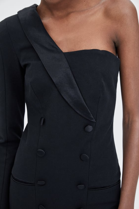 Tuxedo Dress Mini Dresses Jumpsuits Woman Sale Zara United States