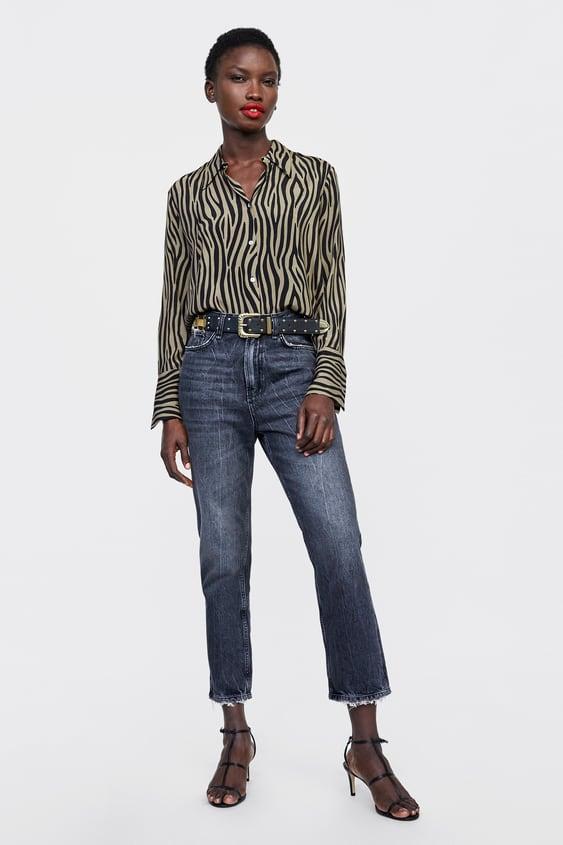 8e7fbb88be camisa-estampado-bicolor--dress-timemujer-corner-shops by zara