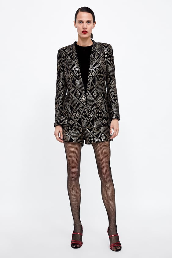Sequin Shorts  View All Dress Time Woman Corner Shops Sale by Zara