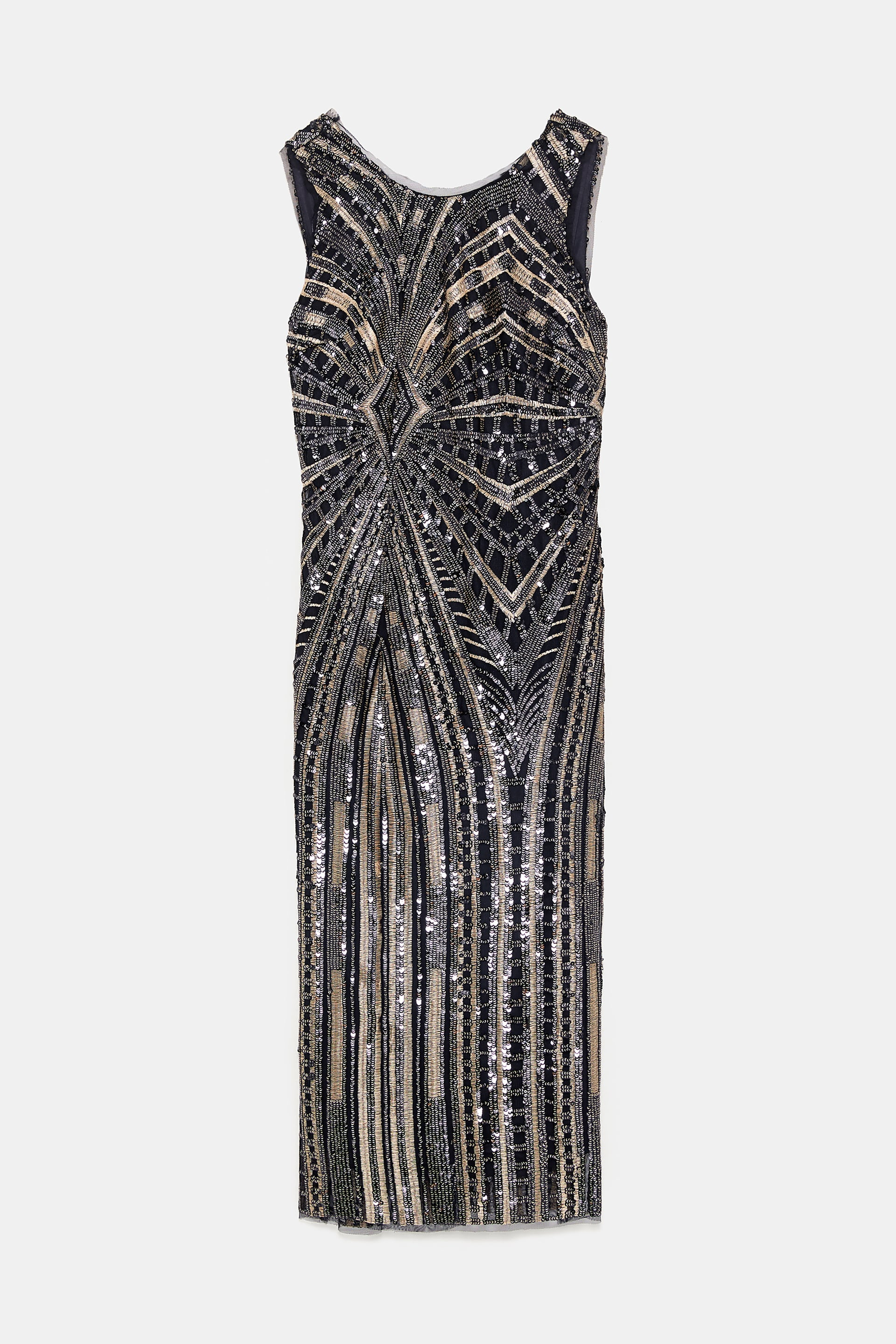 Image 9 of FITTED SEQUIN DRESS from Zara