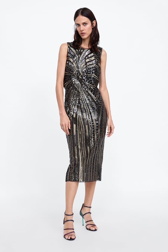 c7b559c6a4 tube-dress-with-sequins--new-inwoman by zara
