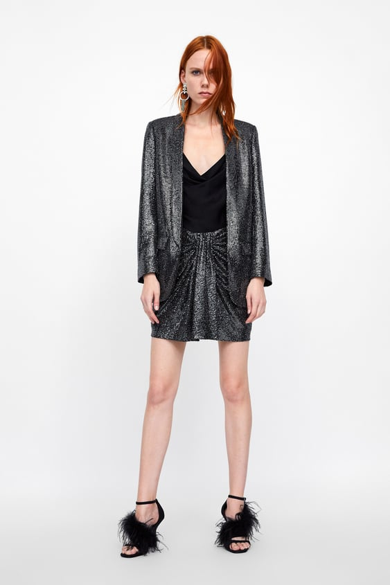 Sequin Jacket  New Inwoman by Zara