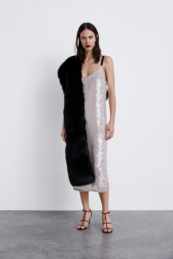 Sequin Dress View All Dresses Woman by Zara