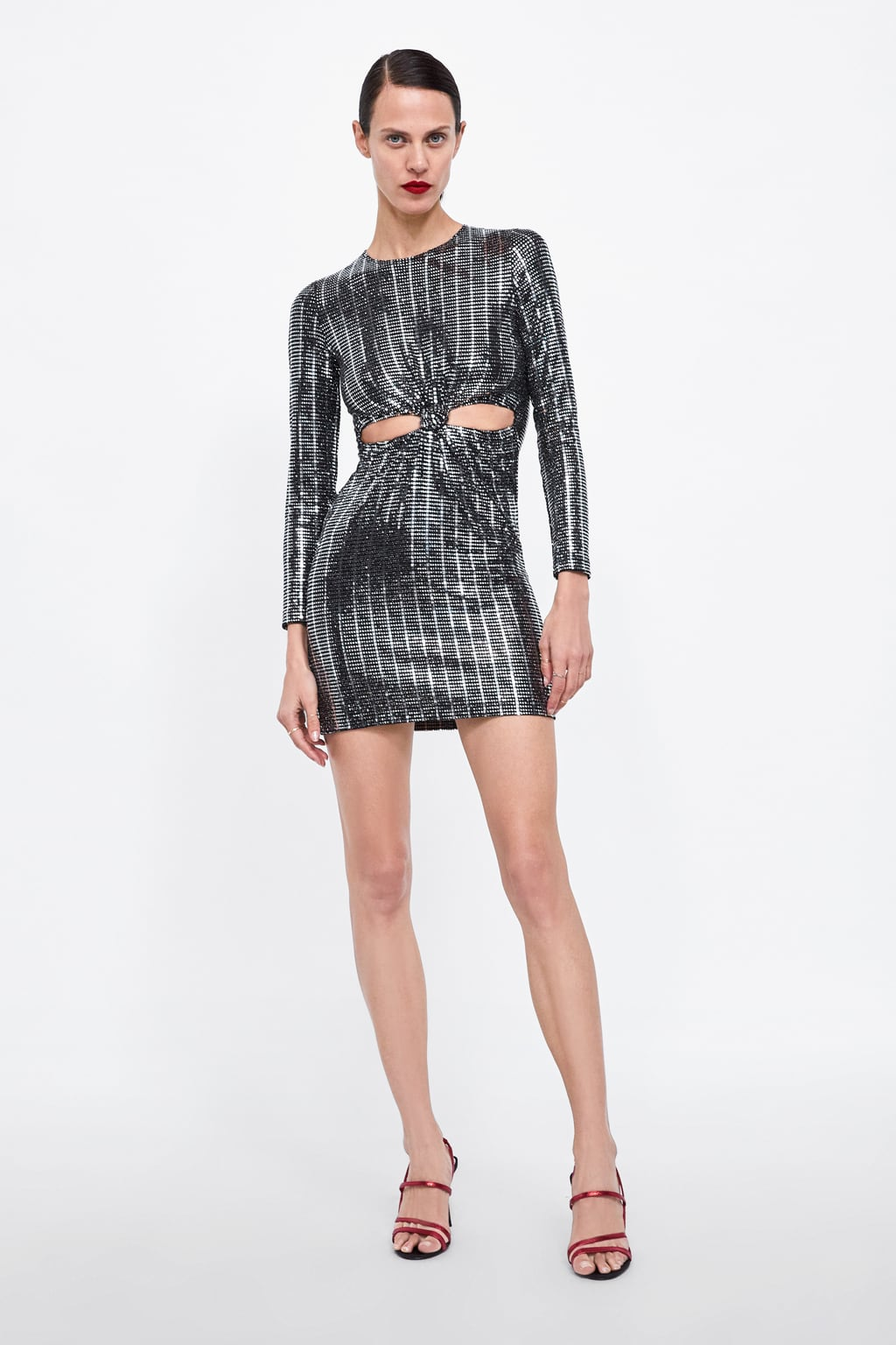 Image 1 of SEQUIN DRESS from Zara