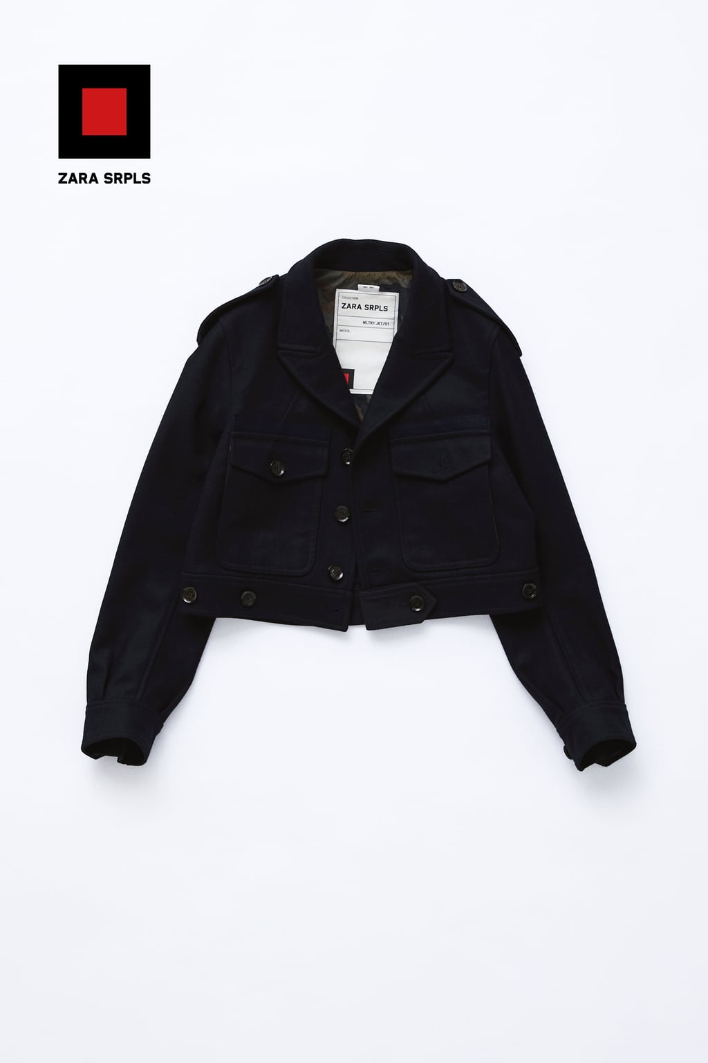 Image 3 of MLTRY JKT 01 from Zara