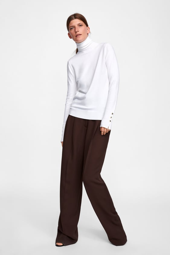 18810793 Shoptagr | Basic High Neck Sweater View All Knitwear Woman by Zara