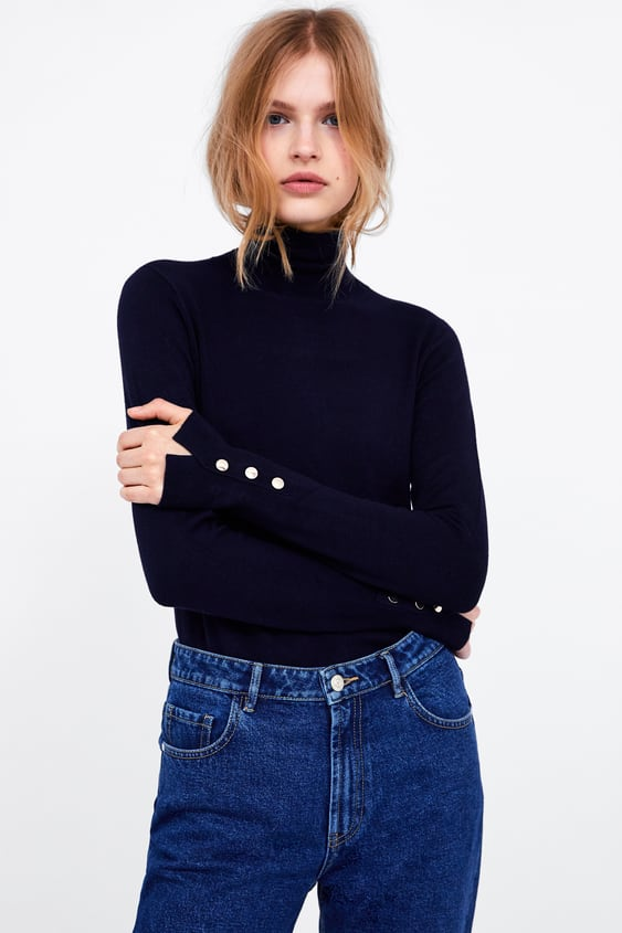 2048e7496a BASIC HIGH NECK SWEATER - Available in more colours
