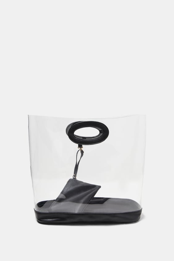 Transparent Bag  View All Accessories Woman Sale by Zara