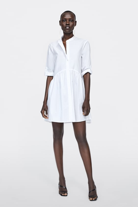 Poplin Dress View All Dresses Woman Sale by Zara