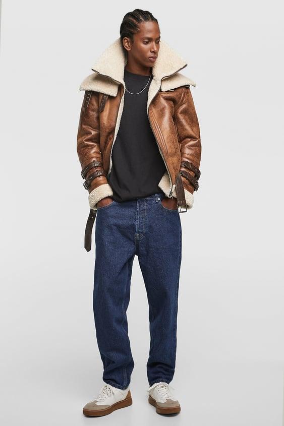 Double Sided Jacket Outerwear Sale Man Zara New Zealand