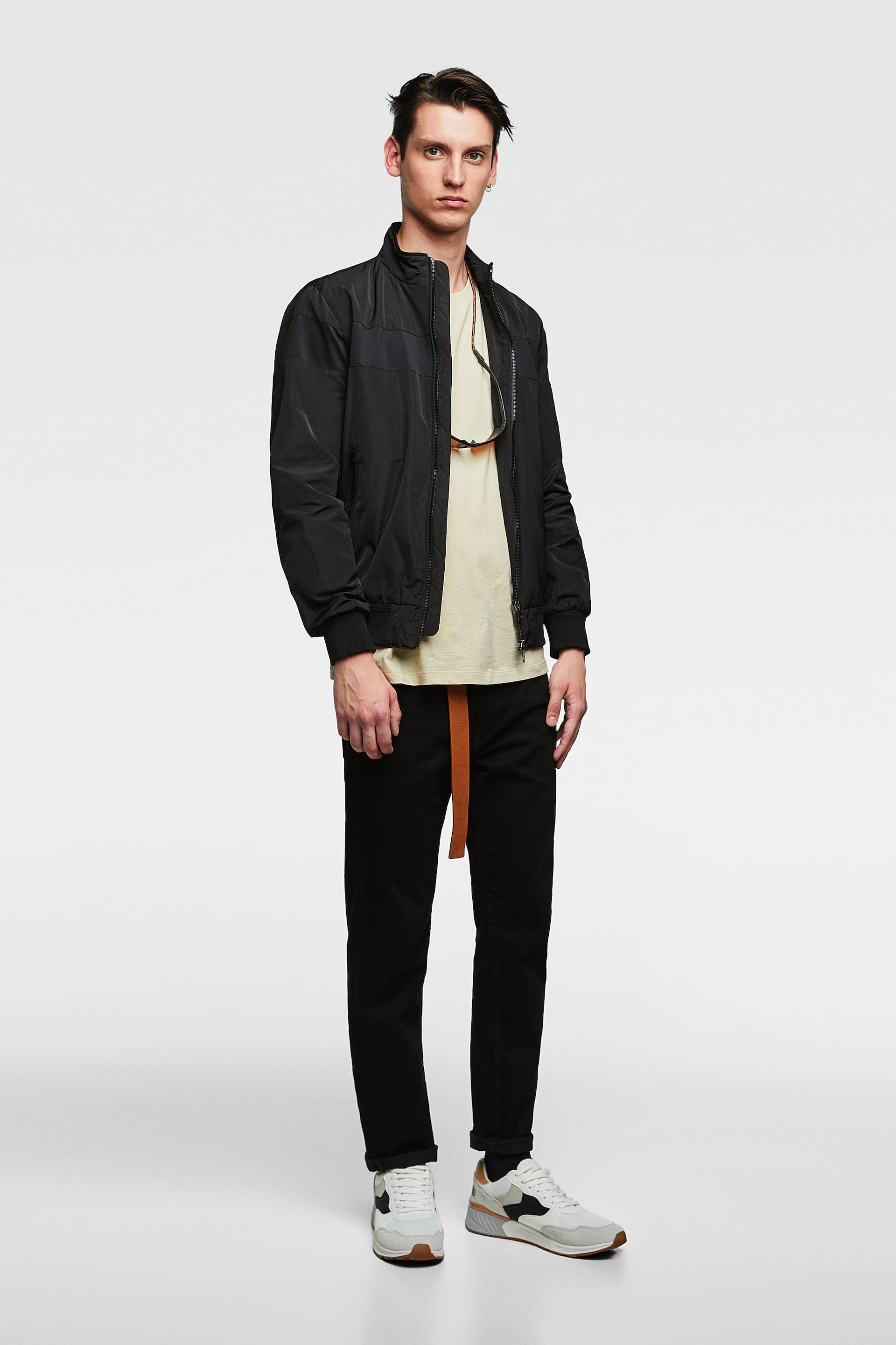 Lightweight Combined Jacket  View All Jackets Man by Zara