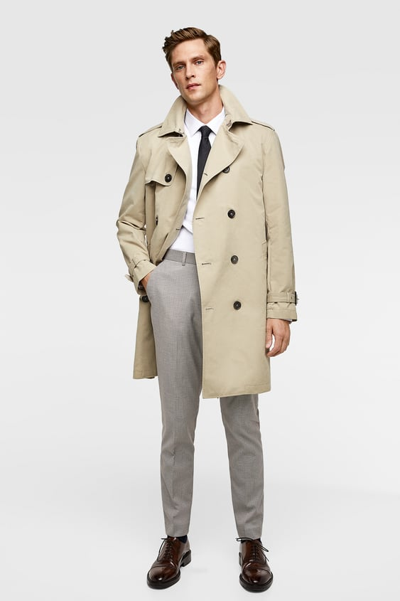 WATER REPELLENT TRENCH COAT - STARTING FROM 50% OFF-SALE-MAN  cdd5091fb4