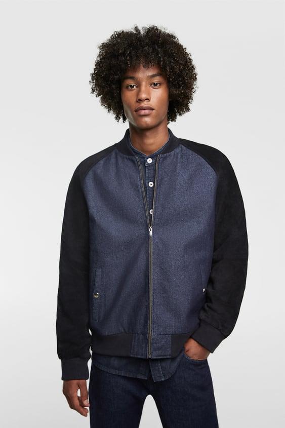 Men S Denim Jackets Online Sale Zara United Kingdom