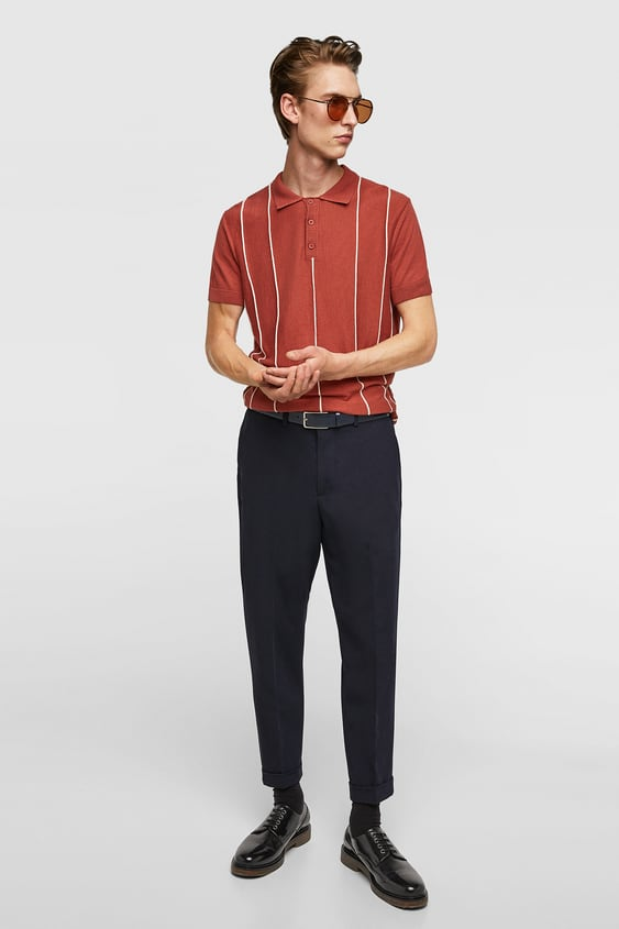 Men S Polo Shirts Online Sale Zara United States