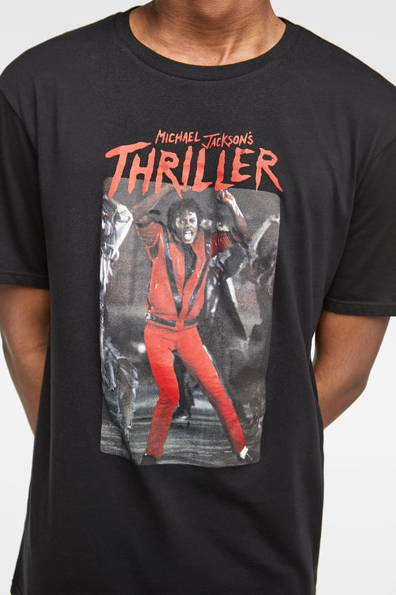 Image 5 of MICHAEL JACKSON S THRILLER™ T-SHIRT from Zara e179df3175354