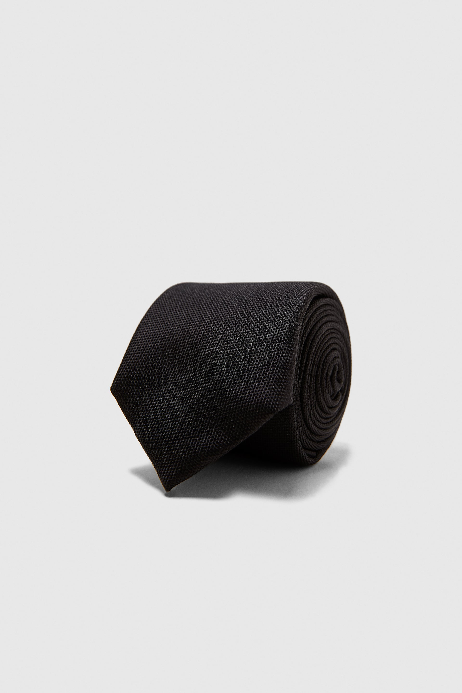 Wide Textured Tie by Zara