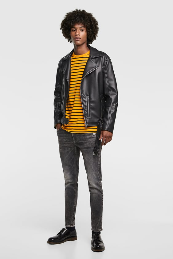 Zippered Skinny Jeans  View All Jeans Man by Zara