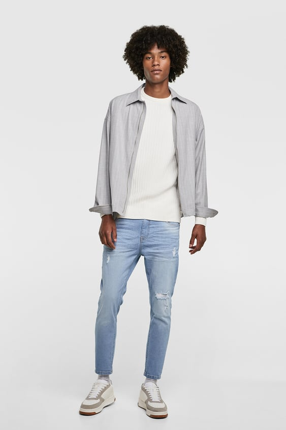 Carrot Fit Jeans View All Jeans Man Sale Zara United States
