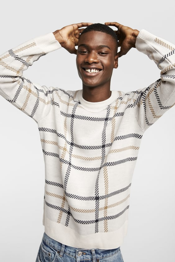 Mens Sweaters New Collection Online Zara United States