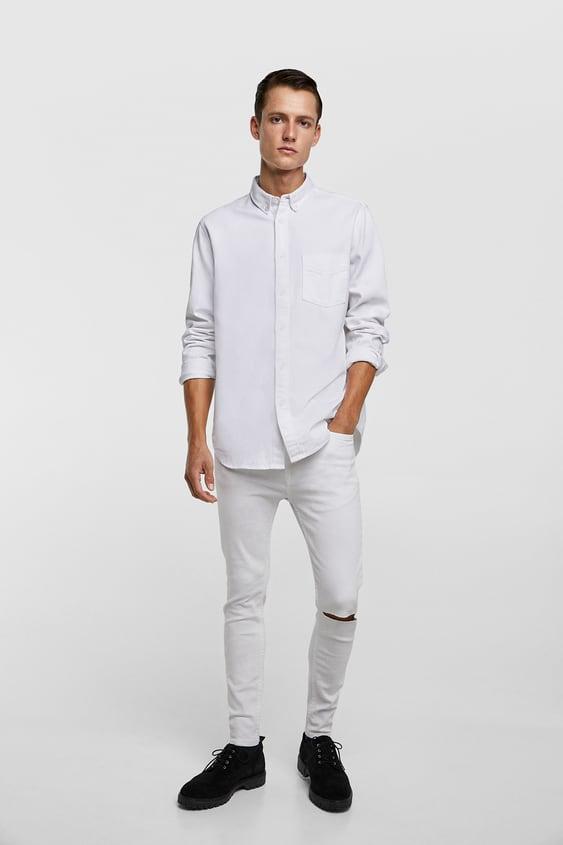 Super Skinny Jeans View All Jeans Man Sale Zara United States