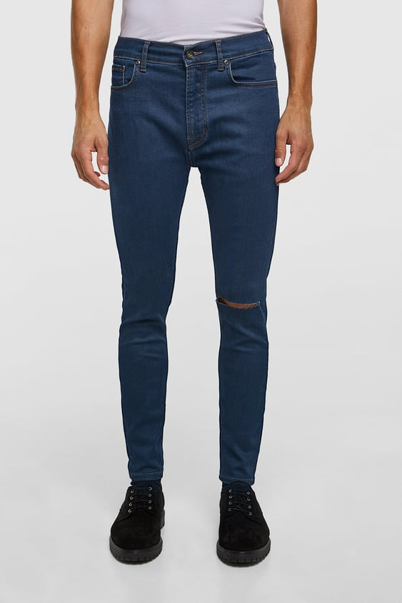 Distressed Jeans Homme Soldes Zara France